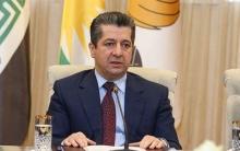 مسرور بارزاني رئيس حكومة كوردستان يهنئ العمال بعيدهم